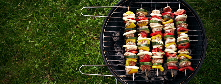 Food allergy and intolerances at a BBQ can cause annoying symptoms.