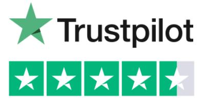 Trustpilot 4.5 white new - Home